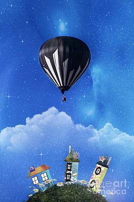 Up Through The Atmosphere Print by Juli Scalzi