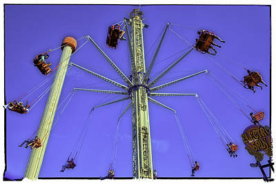 Up Up And Away 2013 - Coney Island - Brooklyn - New York Art Print by Madeline Ellis