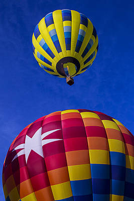 Photograph - Up Up And Away by Garry Gay