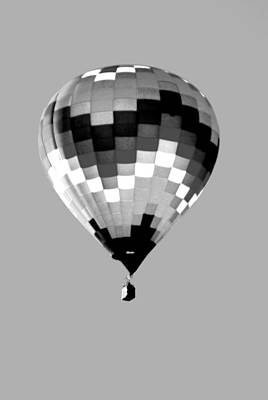 Up Up And Away In Infra Red Art Print