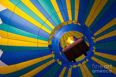 Basket Photograph - Up Up And Away by Inge Johnsson