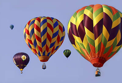 Moody Photograph - Up Up And Away by Marcia Colelli