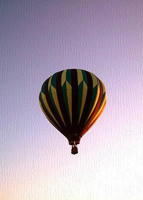 Up Where The Air Is Clear Art Print by R McLellan