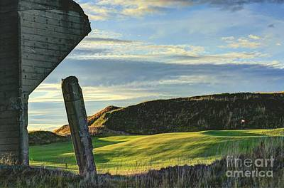 Photograph - Upcycled Golf - Chambers Bay Golf Course by Chris Anderson