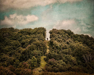 Never Give Up Photograph - Uphill Climb by Jai Johnson