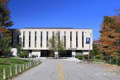 Photograph - Upj Library by John Waclo