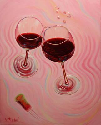 Uplifting Spirits II Art Print by Sandi Whetzel