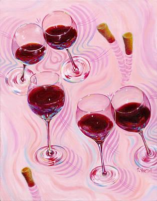 Painting - Uplifting Spirits  by Sandi Whetzel