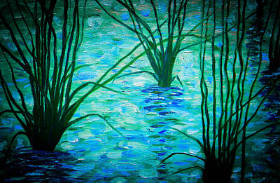 Painting - Upon The Waters by Christy Usilton