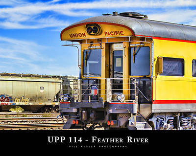 Photograph - Upp 114 - Feather River by Bill Kesler