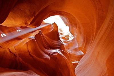 Photograph - Upper Antelope Canyon 1 by David Beebe