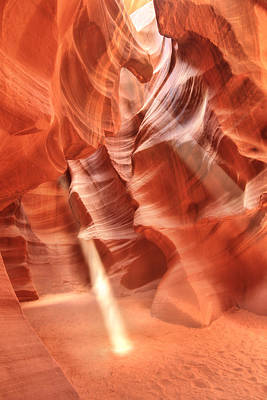 Digital Art - Upper Antelope Canyon by Lori Deiter