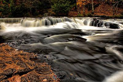 Photograph - Upper Bond Falls In Autumn by Matthew Winn