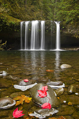 Hiking Photograph - Upper Butte Creek Falls Oregon 3 by David Gn
