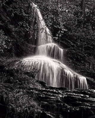 Photograph - Upper Cathedral Falls by Chris Flees