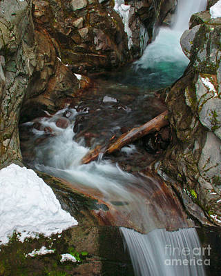 Photograph - Upper Christine Falls IIi by Chuck Flewelling