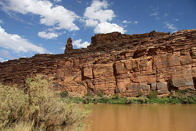 Photograph - Upper Colorado River View by Christiane Schulze Art And Photography