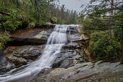 Photograph - Upper Creek Falls by Randy Scherkenbach