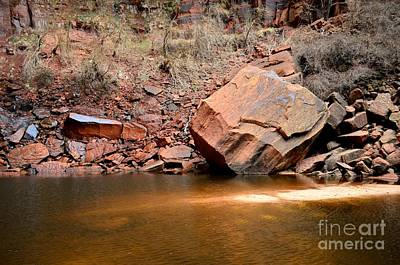 Zion Photograph - Upper Emerald Pools At Zion National Park by Rincon Road Photography By Ben Petersen