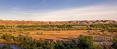 Landsacape Photograph - Upper Emmett Valley by Robert Bales