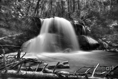 Photograph - Upper Falls At Holly River State Park by Dan Friend