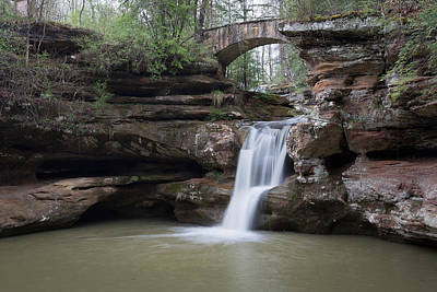 Photograph - Upper Falls At Old Mans Cave II by Dale Kincaid