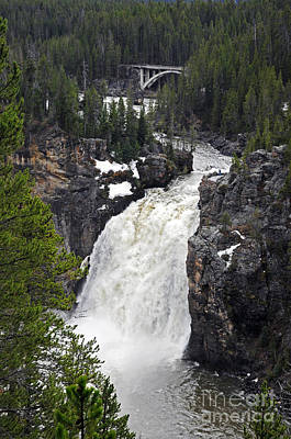 Photograph - Upper Falls by Cindy Murphy - NightVisions