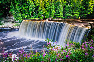 Photograph - Upper Falls by Thomas Pettengill