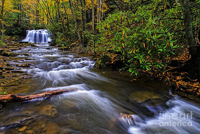 Webster Park Photograph - Upper Falls by Thomas R Fletcher