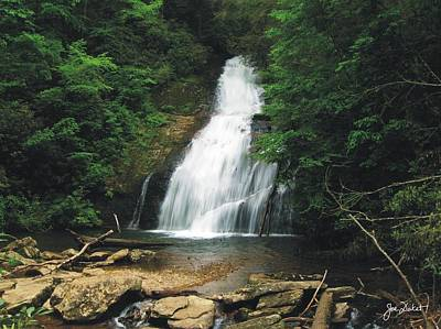 Photograph - Upper Helton Creek Falls by Joe Duket