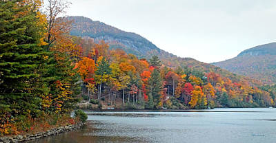 Photograph - Upper Lake Toxaway In The Fall by Duane McCullough