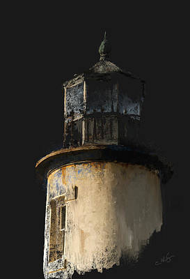 Painter Digital Art - Upper Lighthouse by Dale Stillman