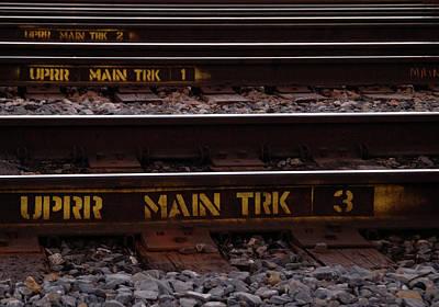 Upper Main Track Art Print