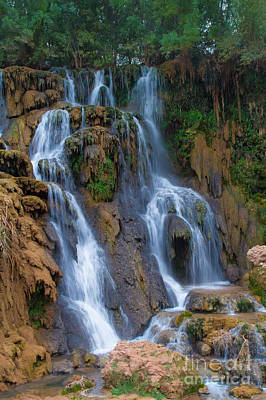Photograph - Upper Navajo Falls 1 by Jim McCain