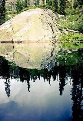 Photograph - Upper Salmon Lake by Cindi Castro