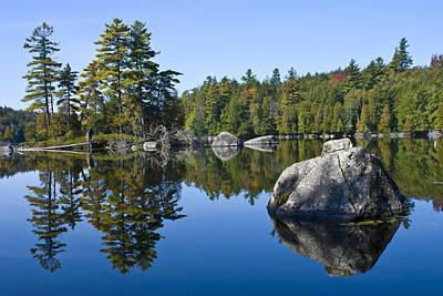 Photograph - Upper Saranac Lake Ny by David Seguin
