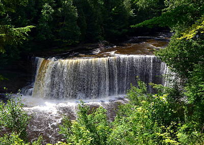 Photograph - Upper Tahquamenon Falls by Michelle Calkins