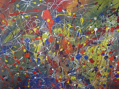 Juxtapose Painting - Upper Torso by Becky Van Pelt