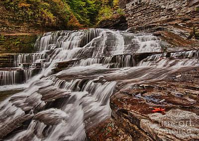 Photograph - Upper Treman Falls by Brad Marzolf Photography