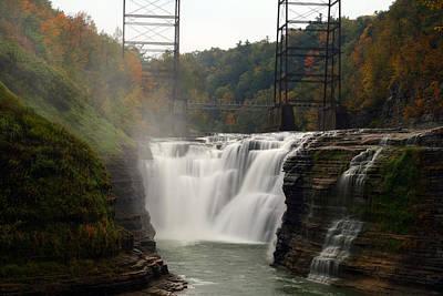 Upper Waterfalls Art Print