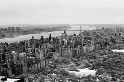 Photograph - Upper West Side And Hudson River by Dave Beckerman
