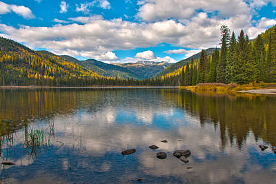 Photograph - Upper Whitefish Lake by Brenda Jacobs
