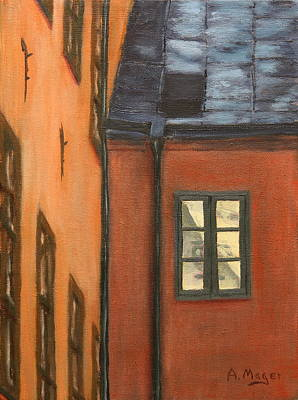 Painting - Upper Window by Alan Mager