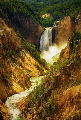 Upper Yellowstone Art Print by Stuart Deacon