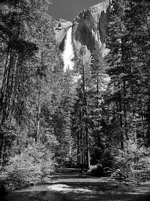 Photograph - Upper Yosemite Fall by David Beebe