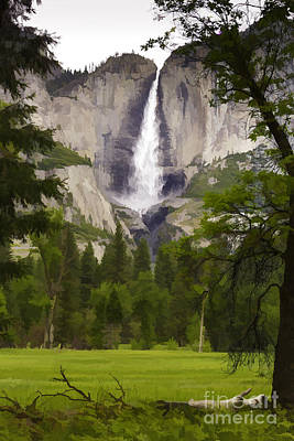 Photograph - Upper Yosemite Falls by David Doucot