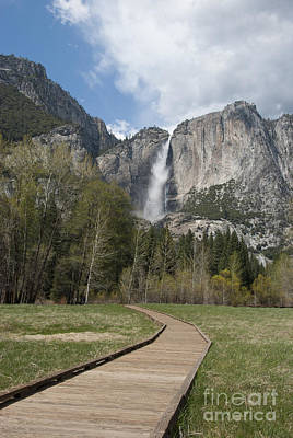 Yosemite Falls Photograph - Upper Yosemite Falls by Juli Scalzi