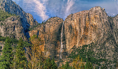 Photograph - Upper Yosemite Falls by Stephen Campbell