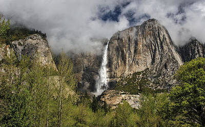 Photograph - Upper Yosemite Falls by Torrey McNeal