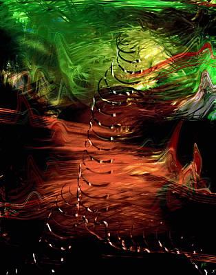 Syria Painting - Uprising by Gerlinde Keating - Galleria GK Keating Associates Inc